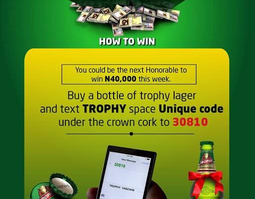 trophy lager beer 1