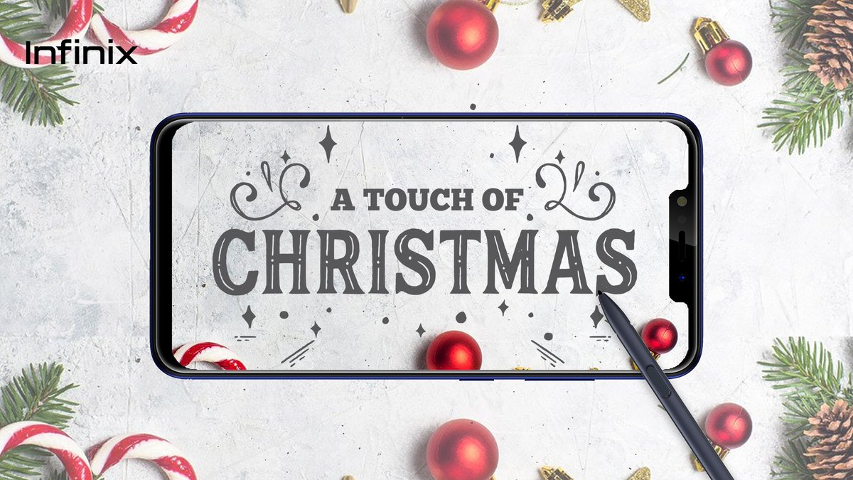 #Infinixtouchofchristmas competition