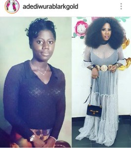 ACTRESS #BECKY THANKS GOD FOR GIVING HER A BIG BREAST OVERNIGHT!