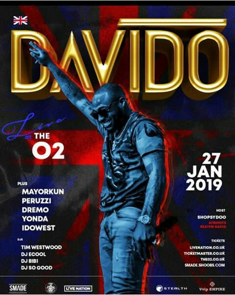 You are currently viewing DAVIDO LIVE 02 CONERT!