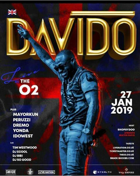 DAVIDO LIVE 02 CONERT!