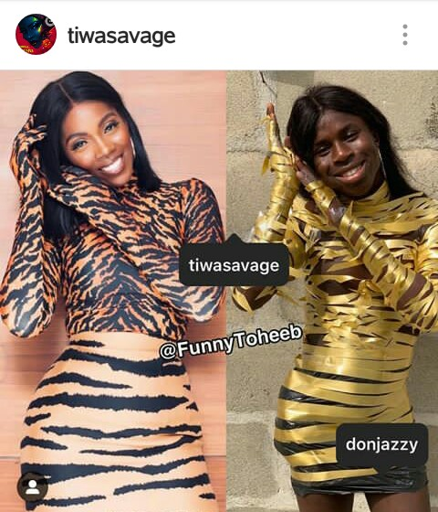 (+OTHER 10YEARS CHALLENGE PICS) AWWW! WHO DID THIS TO TIWA SAVAGE!
