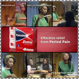 """ADVERT REVIEW: ONE OF PANADOL EXTRA'S ADVERT """"SMILING WITH PAINS? HMM!"""""""