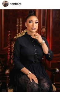 VIEW FUNNY AND SARCASTIC REACTIONS TO TONTO DIKE'S CLAIM OF HUSBAND BEING A YAHOO+ GUY