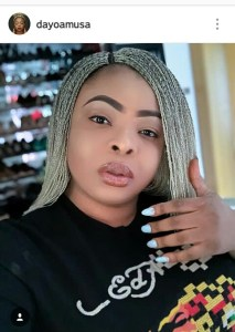 NOLLYWOOD ACTRESS DAYO AMUSA JUST CALLED HER IG FOLLOWERS HER SLAVES; AMMA UNFOLLOW RIGHT AWAY EXCEPT AN APOLOGY IS TENDERED