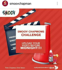 HERE IS HOW TO TAKE PART IN THE SMOOV CHAPMOMS CHALLENGE!