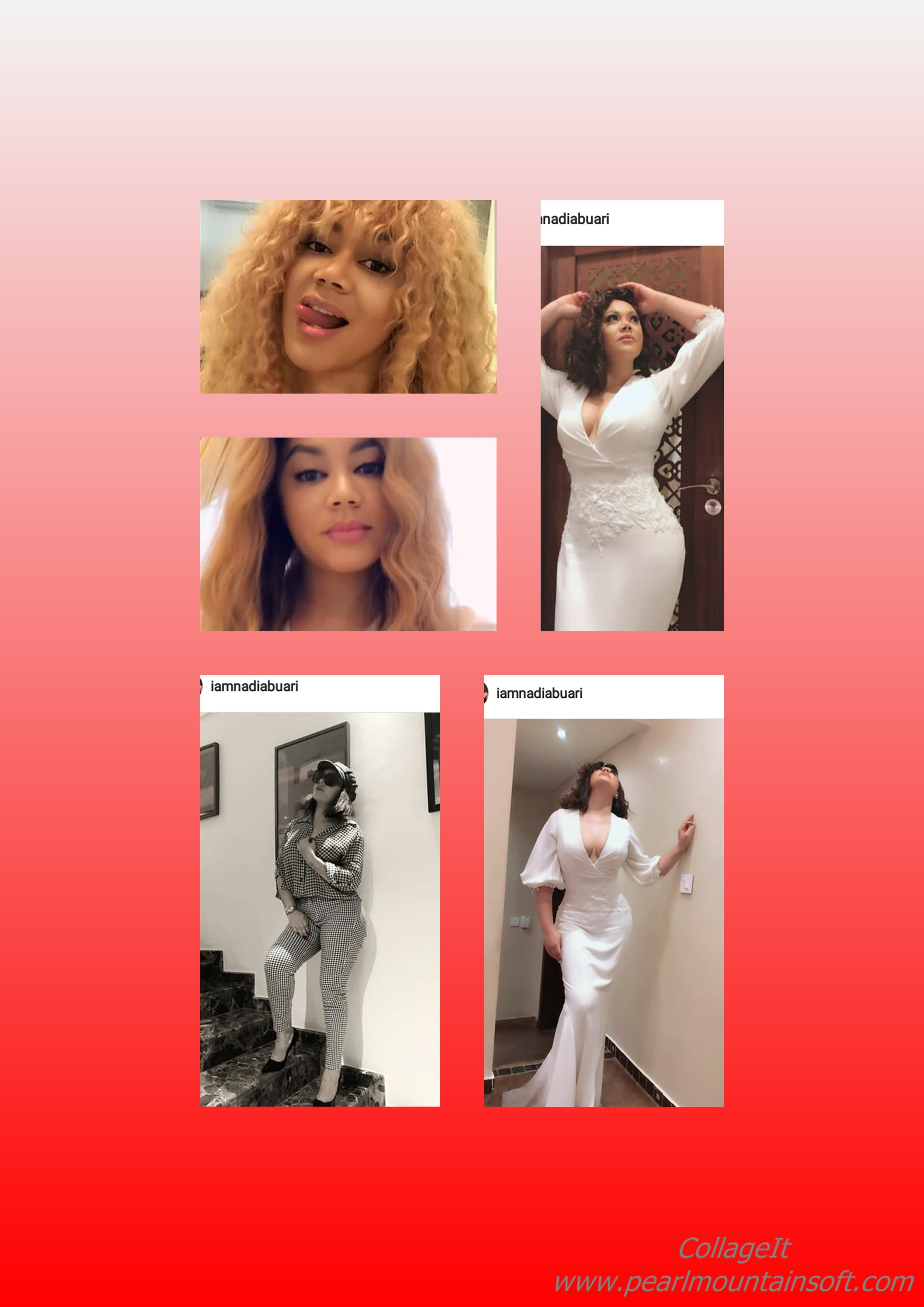 NADIA BUARI'S PICTURE CRAZE FOR THE WEEK: Blazing, Sexy, Weird, Modest or Something else?
