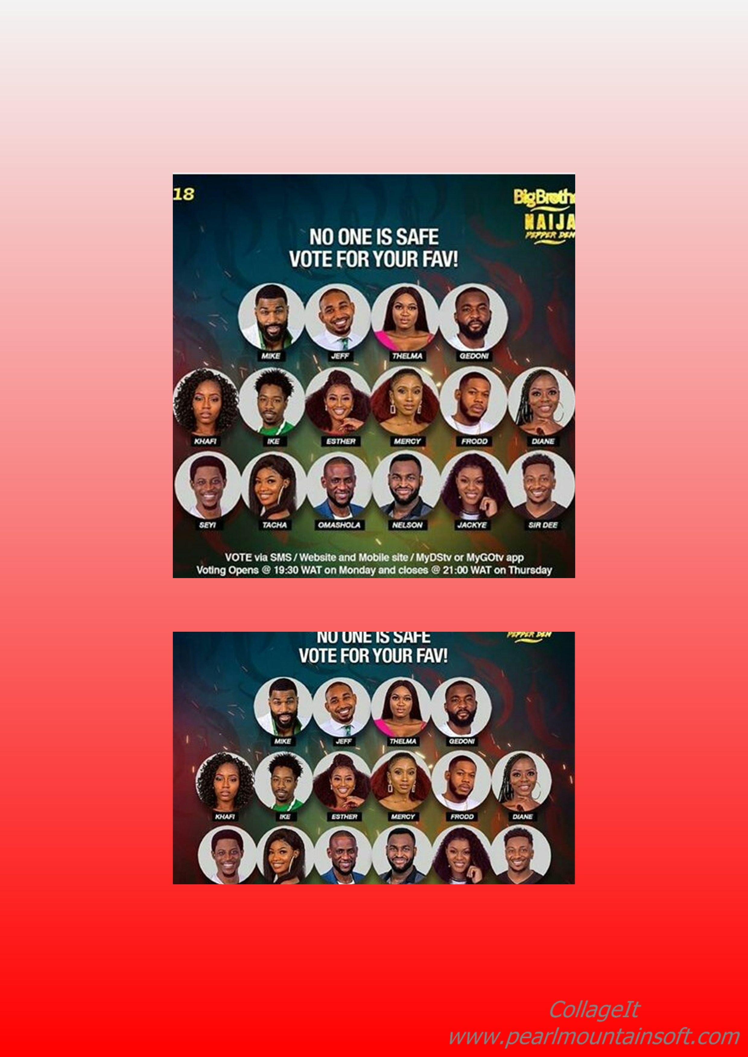 THESE ARE THE EVICTED PEPPER DEM GANG HOUSEMATES OF THE BBNAIJA 2019