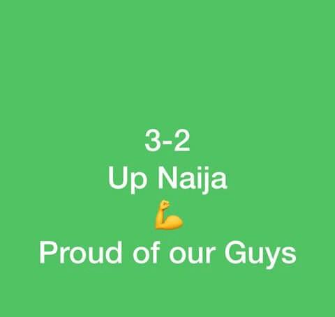 IGHALO IS A GOAL! ALEX IWOBI IS A GOAL! YESSS! NAIJA:3~CAMEROON2