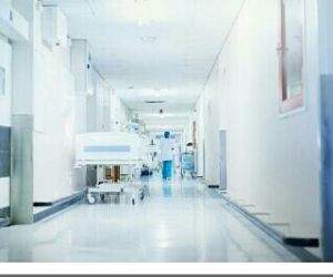 I AM HERE AT THE HOSPITAL…