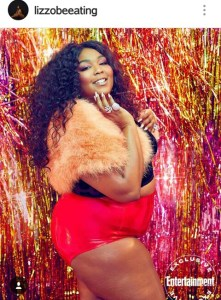 HERE IS WHAT SONGSTRESS- LIZZO HAS TO SAY ABOUT SELF LOVE