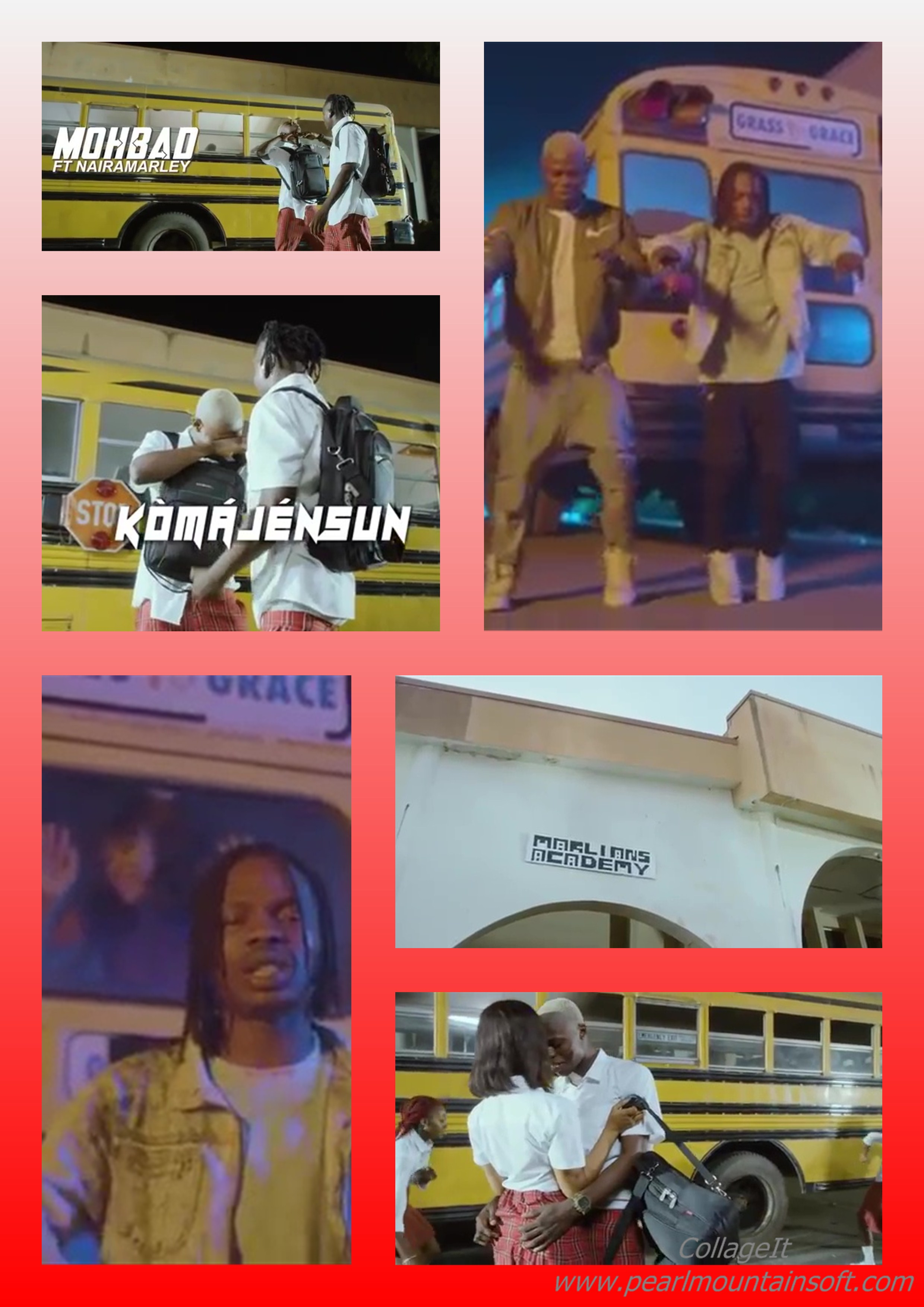 """(+LYRICS+MEANING+TRANSLATION) MUSIC REVIEW: KOMAJENSUN BY MOHBAD FT NAIRA MALEY """"AWON SET NAIRA MARLEY""""                                        +WHY USE A SECONDARY SCHOOL SETTING FOR THIS RU…"""""""