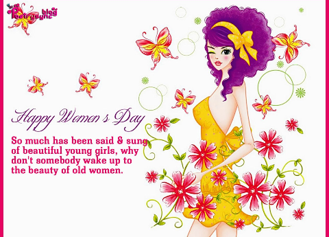 HAPPY WOMEN'S DAY; EVERYDAY SHOULD ACTUALLY BE…