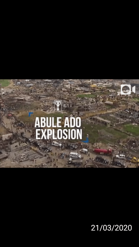 """RECOUNTING THE LOSSES AT THE AMUWO-ODOFIN FESTAC TOWN EXPLOSION  A WEEK AFTER """"GAS OR BOMB EXPLOSION?"""""""