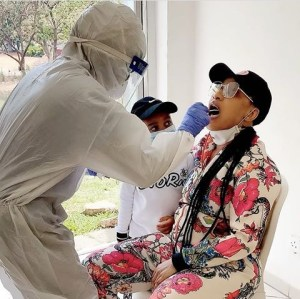HERE IS NOLLYWOOD ACTRESS- *TONTO DIKE'S * CORONA VIRUS TEST RESULT!