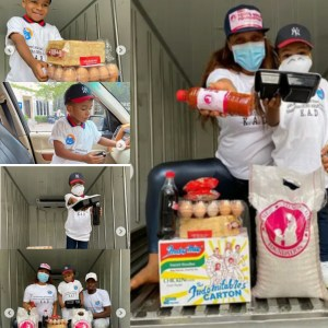 CORONAVIRUS: TONTO DIKE'S FOUNDATION AND HER HANDSOME SON'S FOUNDATION GIVE PLENTY FOOD STUFFS  TO OVER 2000 PEOPLE TO SAVE CITIZENS FROM HUNGER DURING LOCKDOWN!