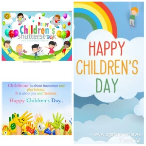 HAPPY CHILDREN'S DAY FROM ALL OF US @OGEFASH PHOTO BLOG