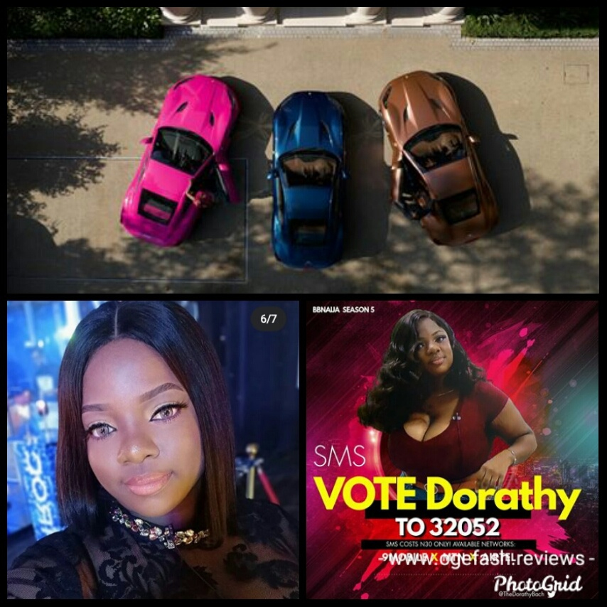 """Read more about the article KEEP VOTING FOR ME, I NEED TO BUY FERRARI PORTOFINO FOR MY KIDS AS WELL """"BBNAIJA DORATHY!"""""""
