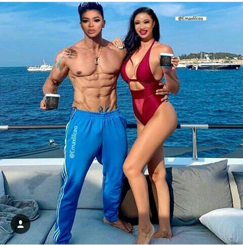 VIEW FUNNY REACTIONS TO THIS TONTO DIKE AND BOBRISKY'S PICTURE!