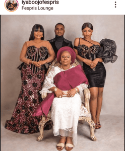 MEET ACTOR, IYABO OJO'S FAMILY, AND VIEW MORE PICTURES FROM HER NEW HOUSE IN BANANA ISLAND!