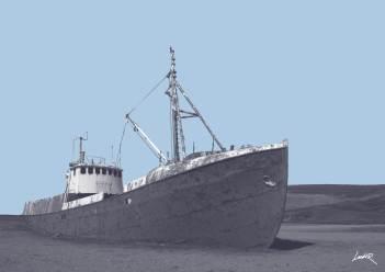 9. Vintage - boat