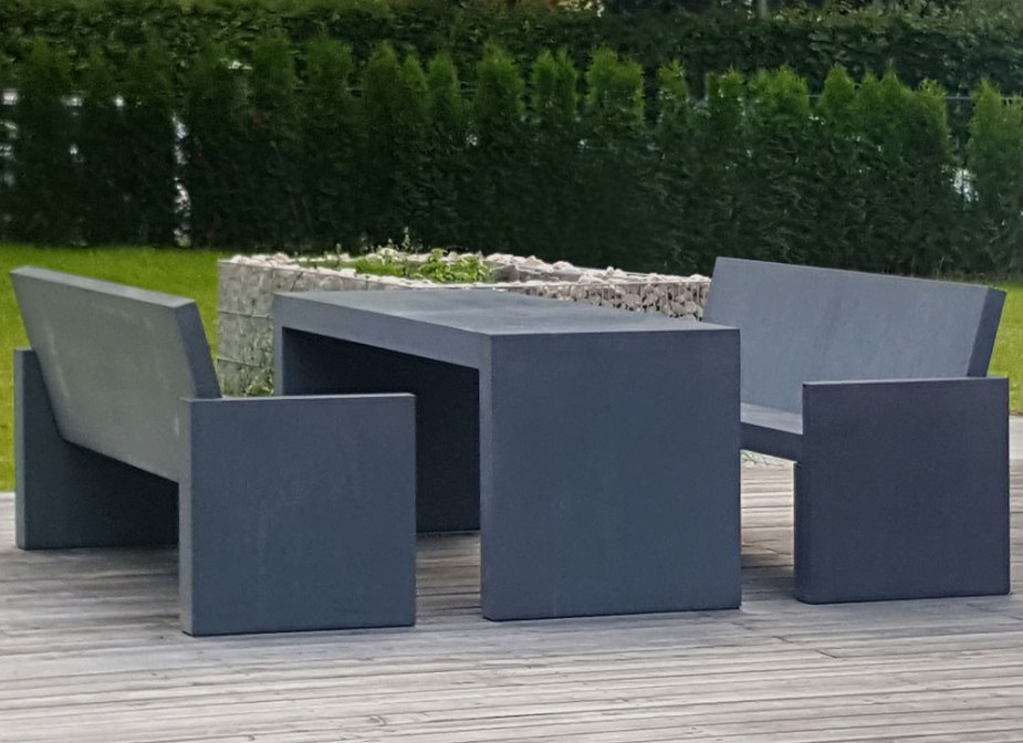 Gartenmöbel outdoor | OGGI-Beton