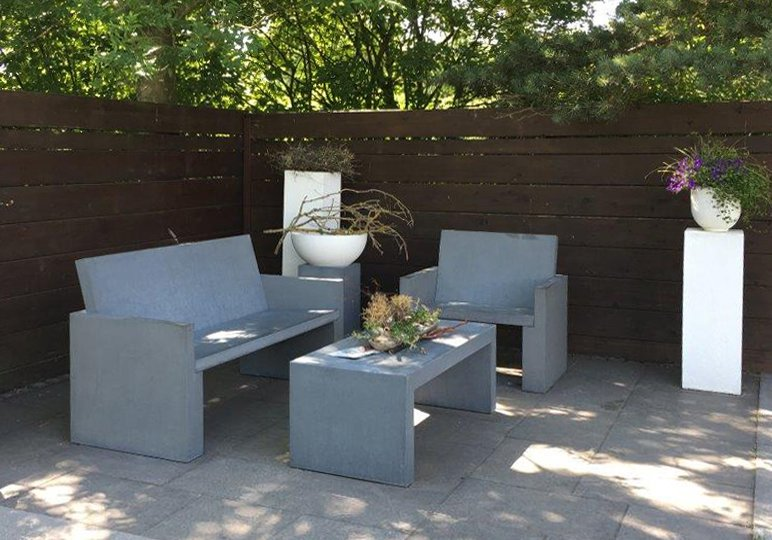 Gartenmöbel Messina Betonmöbel von OGGI Beton
