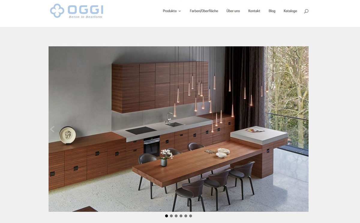 OGGI-Beton | Betonmöbel und Produkte in höchster Qualität