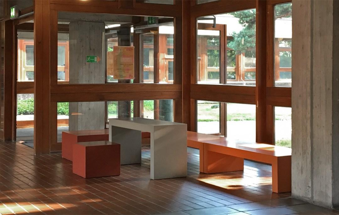 OGGI-Beton: Brandschutzmöbel, Beton-Schule