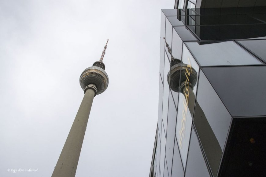 Fernsehturm Berlino
