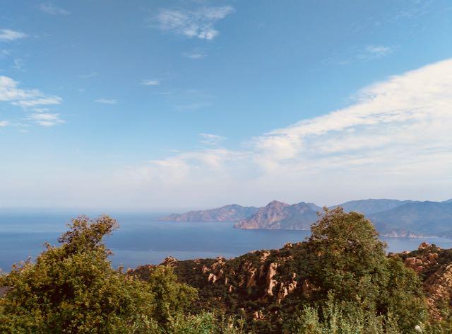 Le strade panoramiche della Corsica.