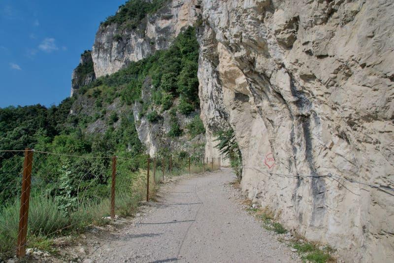 Pendenza Sentiero del Ponale, Riva del Garda