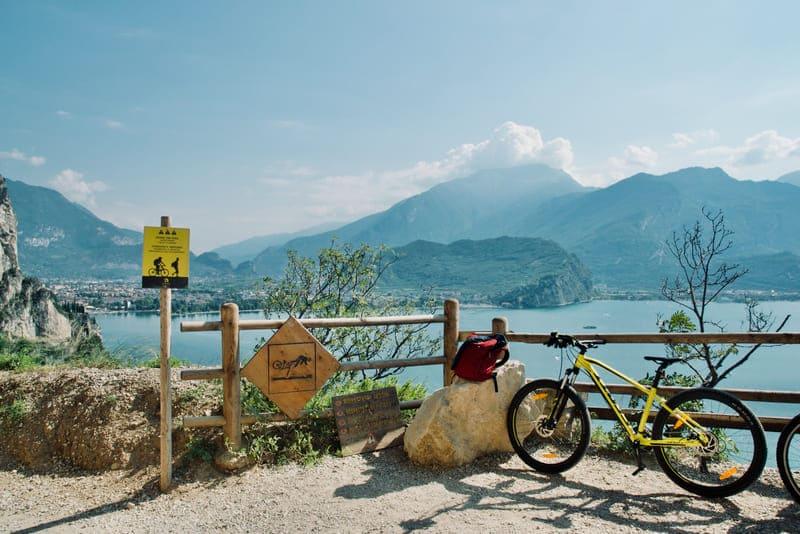 Il Sentiero del Ponale in bicicletta