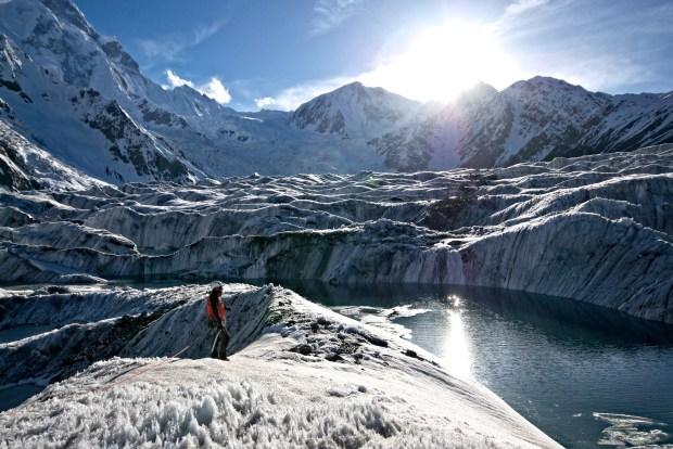 Laghi sul ghiacciaio