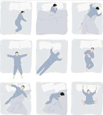 9種不同的睡姿