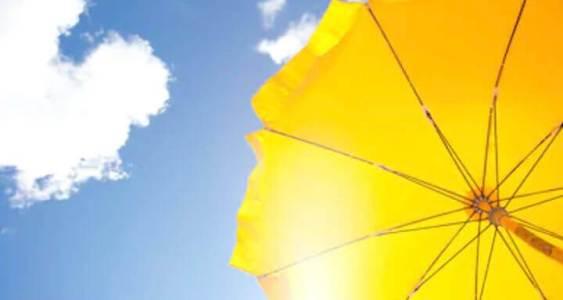 天空太陽傘