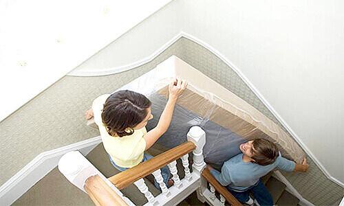 樓梯搬床轉角