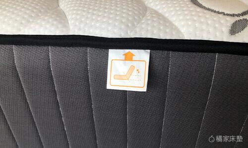橘家床邊有可折圖示