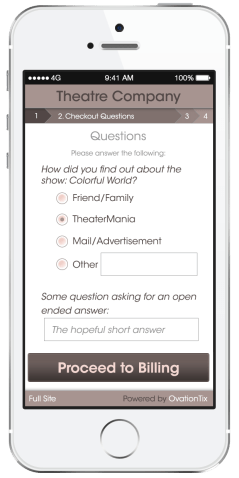 Checkout Questions