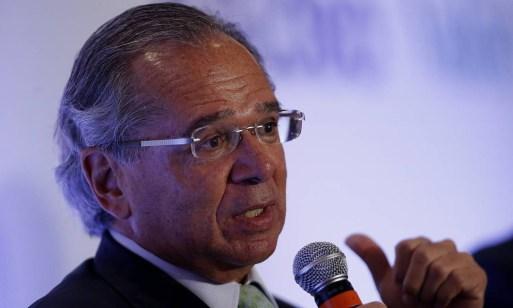 Ministro da Economia, Paulo Guedes Foto: Jorge William / Agência O Globo