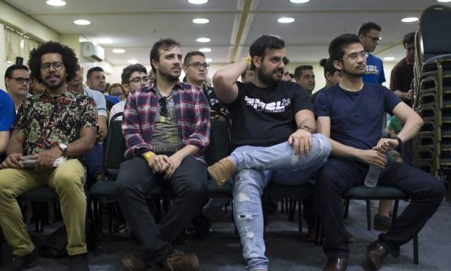 82640210 EPOCASao Jose dos Campos 11 05 2019Primeiro Forum Regional do  - O que pensa a direita que se tornou anti-Bolsonaro - PorGustavo Schmitt e Sérgio Roxo