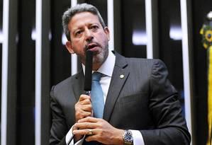 Arthur Lira (PP-AL), líder do centro Foto: Agência O Globo