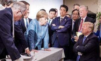 Resultado de imagem para trump no g7