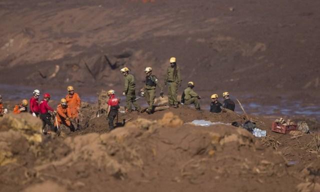 É o quinto dia de trabalhos na região do Córrego do Feijão. Até agora, 65 corpos foram encontrados, 31 dos quais identificados, e 288 pessoas ainda estão desaparecidas Márcia Foletto / Agência O Globo