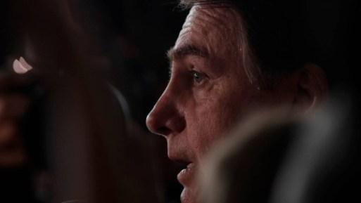 O presidente da República, Jair Bolsonaro, durante evento oficial em Brasília Foto: Ueslei Marcelino / Reuters