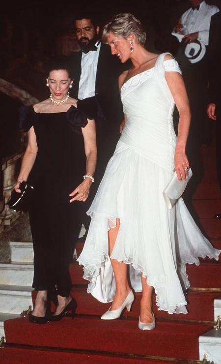 Diana at the gala at Theatro Municipal rio Photo: Tim Graham / Tim Graham Photo Library via Get