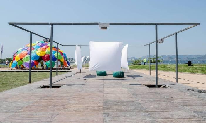 Instalações externas na ArtRio 2019
