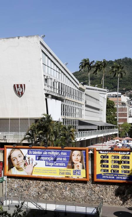 Sede do Tijuca Tênis Clube, na Rua Conde de Bonfim, 451 Foto: Marcos Ramos / 03-01-2019 / Agência O Globo