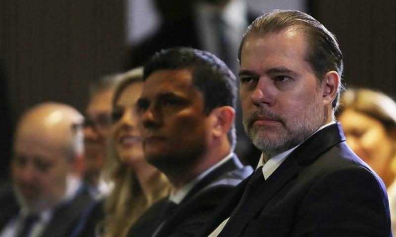 O presidente do STF, Dias Toffoli, considerou a medida constitucional Foto: Jorge William / Agência O Globo