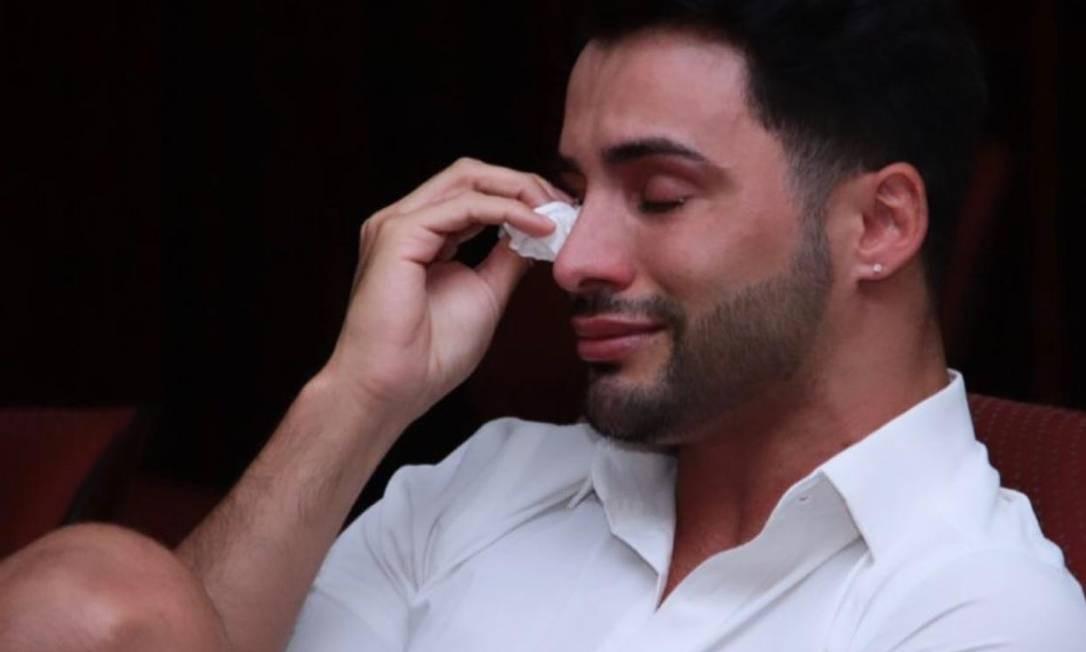 Maquiador chorou no cinema do Alvorada após assistir a vídeo com homenagem Foto: Acervo pessoal / Agustin Fernandez